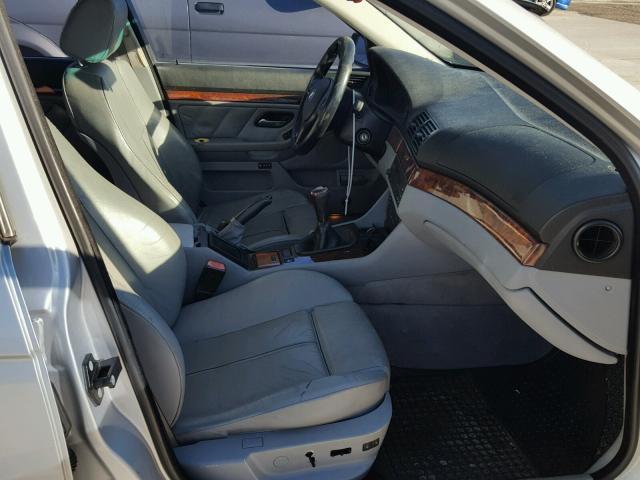 WBADT33443GF43601 - 2003 BMW 525 I SILVER photo 5