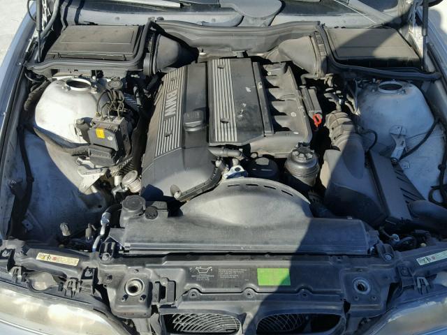WBADT33443GF43601 - 2003 BMW 525 I SILVER photo 7