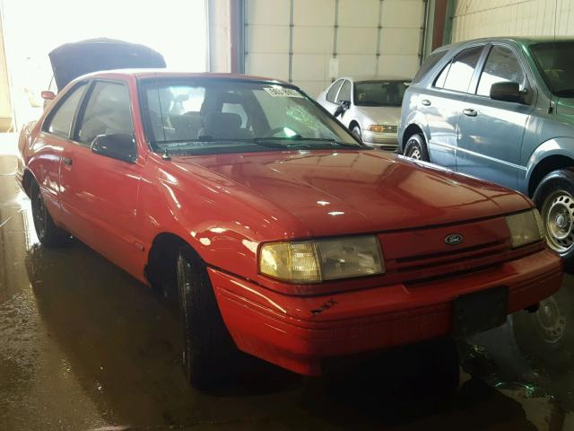 1FAPP31X0RK139723 - 1994 FORD TEMPO GL RED photo 1