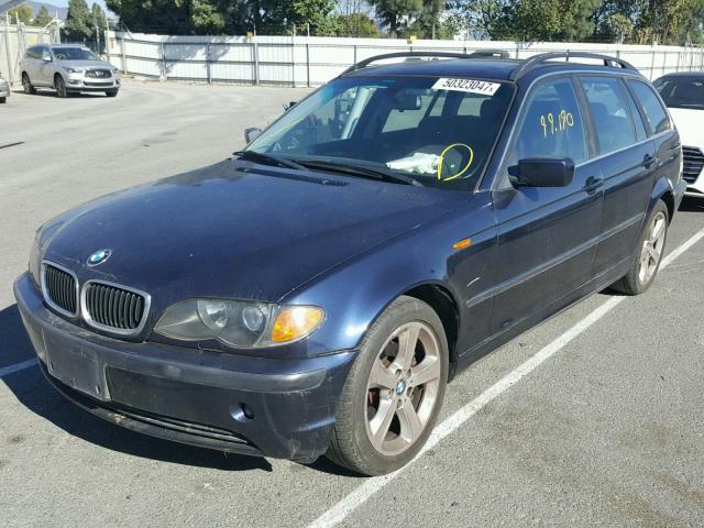 WBAEP33455PF05466 - 2005 BMW 325 XIT BLUE photo 2
