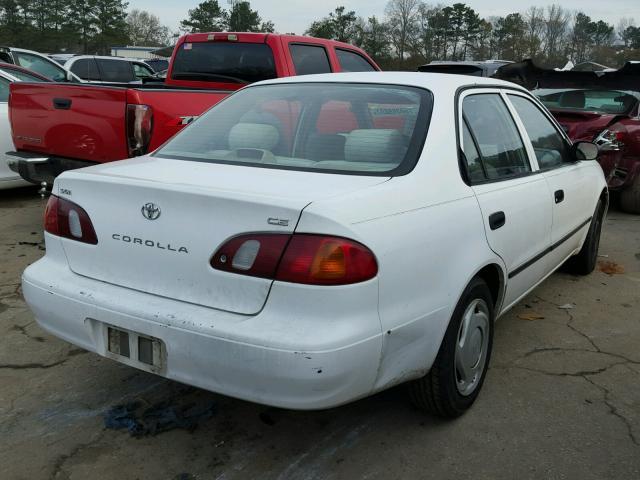 2T1BR12E4WC027035 - 1998 TOYOTA COROLLA VE WHITE photo 4