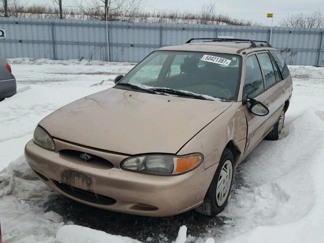 3FAFP15P4XR193304 - 1999 FORD ESCORT SE BEIGE photo 2