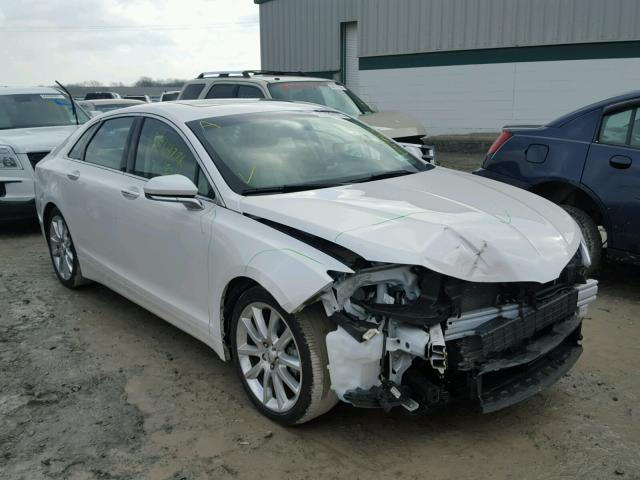 3LN6L2LU3FR600334 - 2015 LINCOLN MKZ HYBRID WHITE photo 1