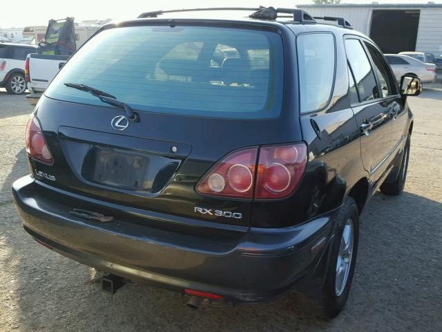 JT6HF10U4Y0096230 - 2000 LEXUS RX 300 BLACK photo 4