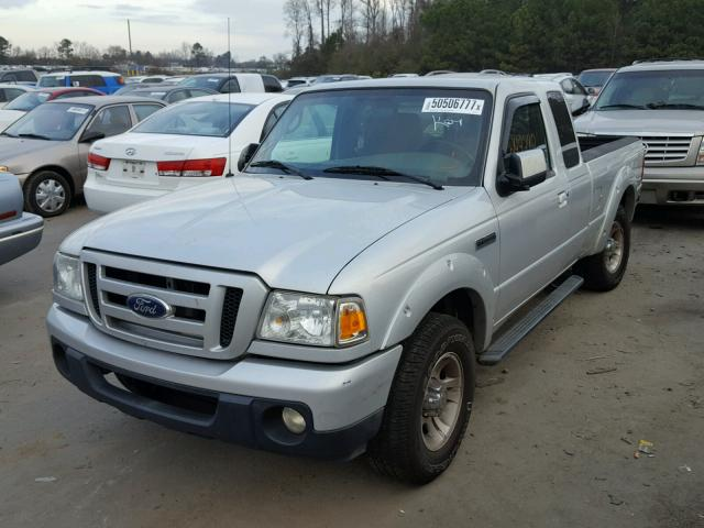 1FTKR4EE7BPB03517 - 2011 FORD RANGER SUP SILVER photo 2