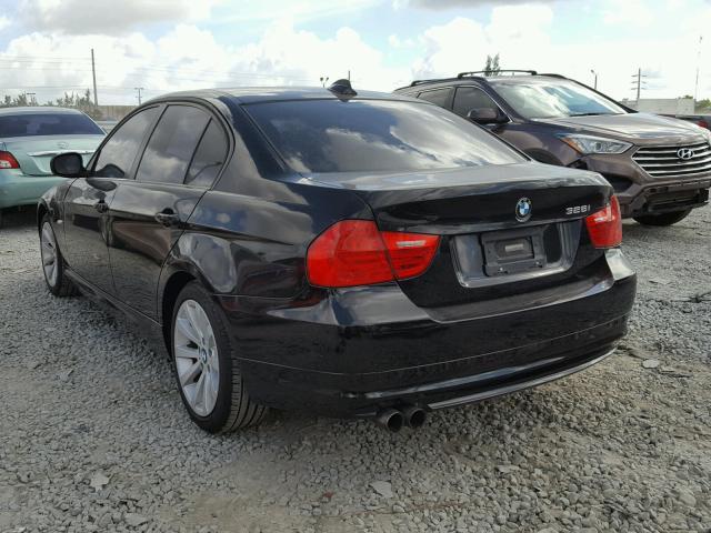 WBAPH7C59BE460557 - 2011 BMW 328 I BLACK photo 3