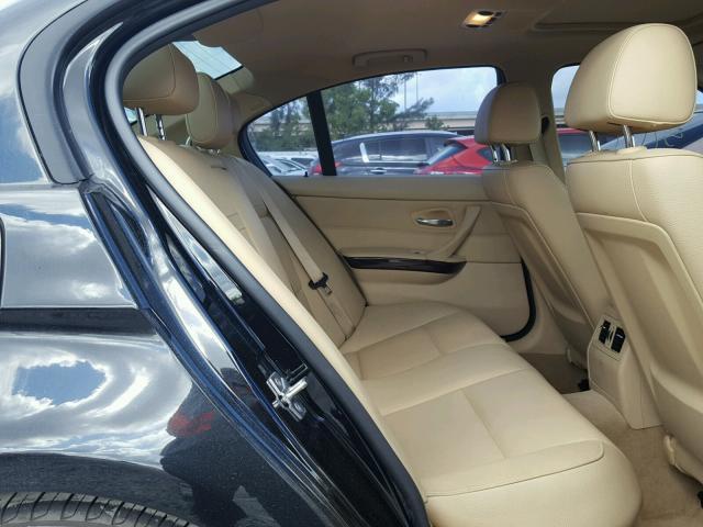 WBAPH7C59BE460557 - 2011 BMW 328 I BLACK photo 6