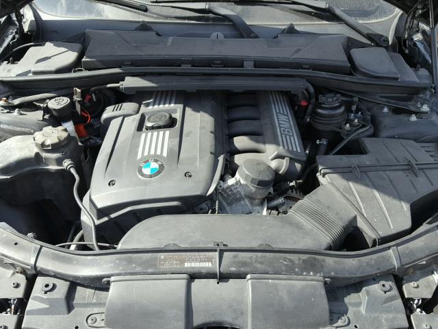 WBAPH7C59BE460557 - 2011 BMW 328 I BLACK photo 7