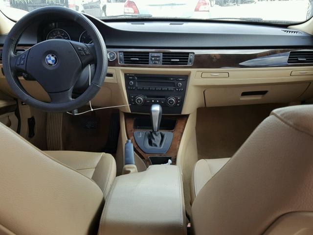 WBAPH7C59BE460557 - 2011 BMW 328 I BLACK photo 9