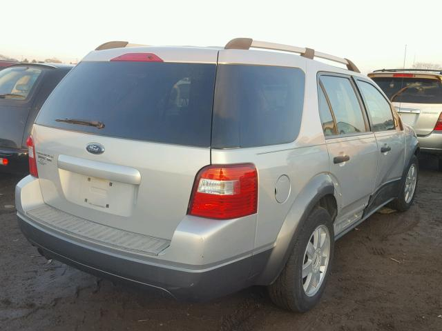 1FMZK04105GA32767 - 2005 FORD FREESTYLE SILVER photo 4