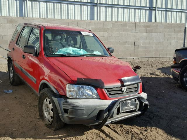 1999 HONDA CR-V LX, RED, JHLRD1841XC053763 -, price history, history of  past auctions