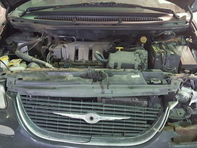 1C4GP64L5YB564681 - 2000 CHRYSLER TOWN & COU BLUE photo 7