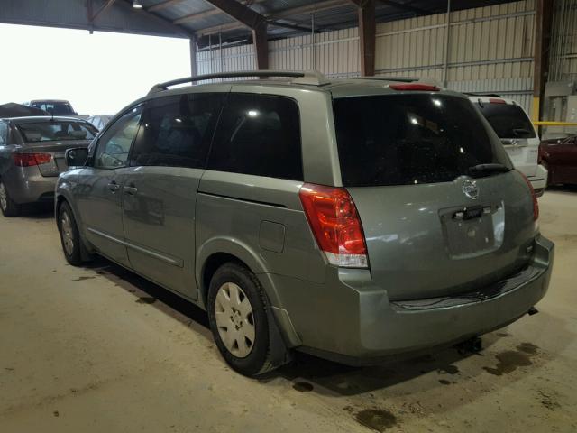 Used Car Lots In Baton Rouge >> 5N1BV28U45N126199 - 2005 NISSAN QUEST S, GREEN - price ...