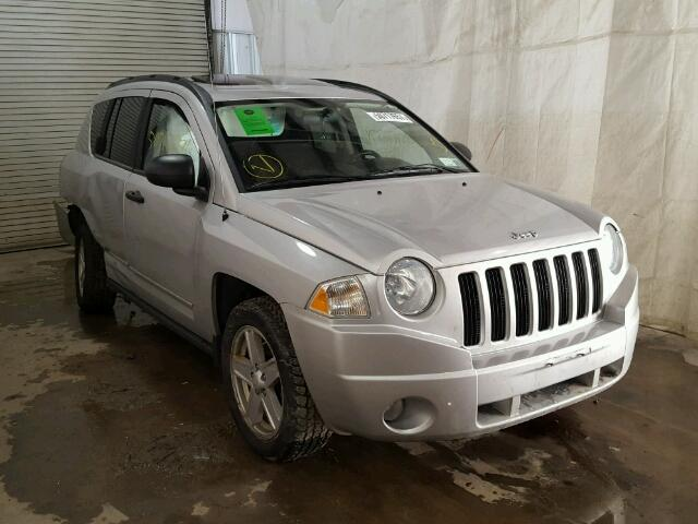 1J4FF47B19D219458 - 2009 JEEP COMPASS SP SILVER photo 1