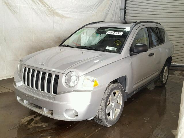 1J4FF47B19D219458 - 2009 JEEP COMPASS SP SILVER photo 2
