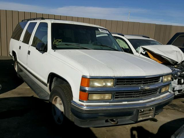 1GNFK16R1VJ311655 - 1997 CHEVROLET SUBURBAN K WHITE photo 1