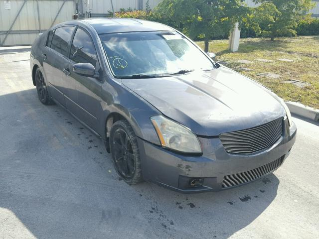 1N4BA41E97C863272 - 2007 NISSAN MAXIMA SE GRAY photo 1