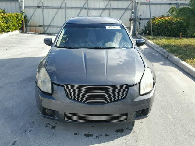 1N4BA41E97C863272 - 2007 NISSAN MAXIMA SE GRAY photo 9