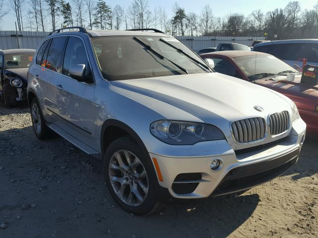 2013 Bmw X5 Xdrive3 Silver 5uxzv4c56d0b10081 Price History History Of Past Auctions
