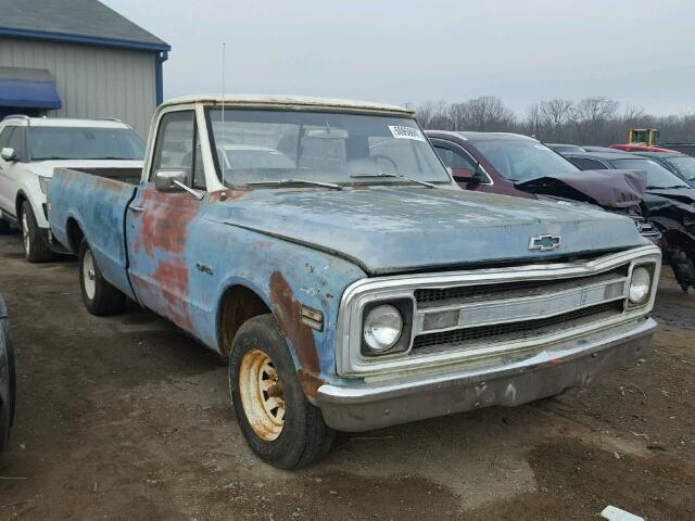 CE149B868552 - 1969 CHEVROLET CST 10 BLUE photo 1