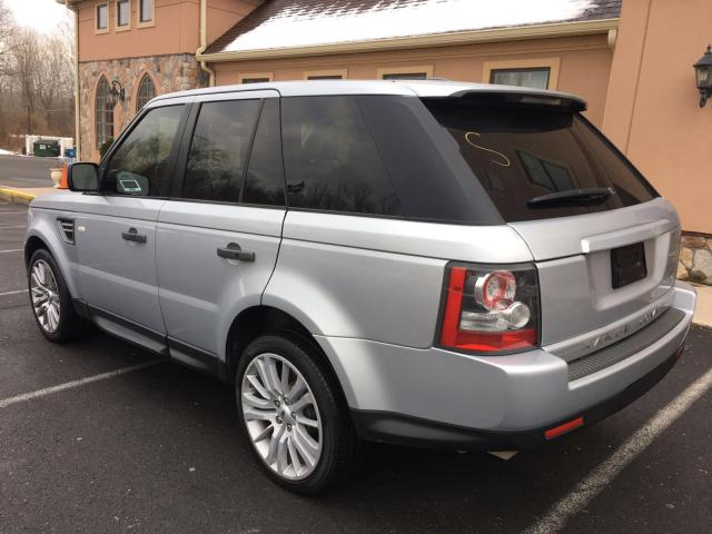 SALSK2D47AA226536 - 2010 LAND ROVER RANGE ROVE SILVER photo 3