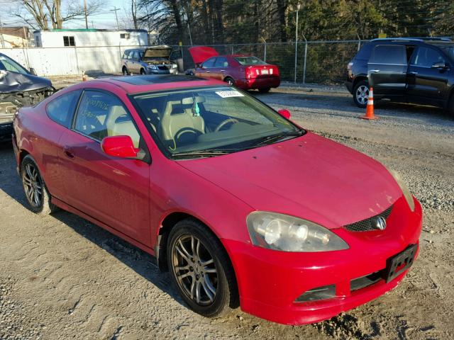 JH4DC54875S013229 - 2005 ACURA RSX RED photo 1