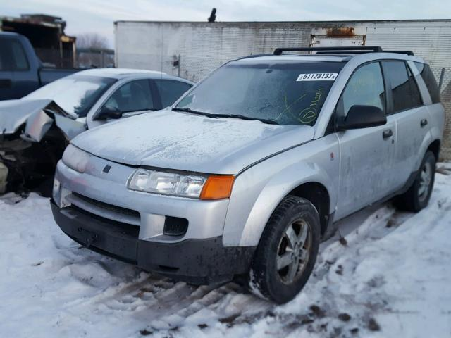 5GZCZ23D65S804844 - 2005 SATURN VUE SILVER photo 2