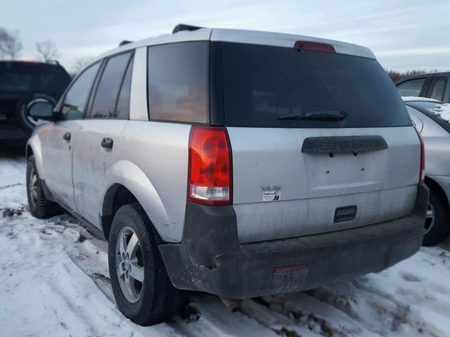 5GZCZ23D65S804844 - 2005 SATURN VUE SILVER photo 3