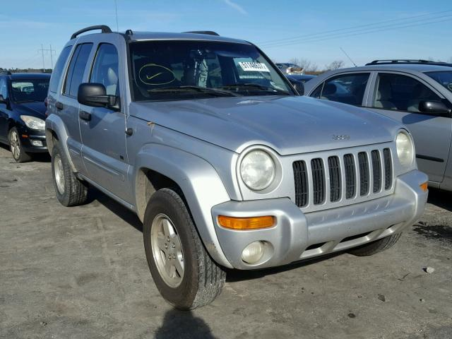 1J4GK58K42W317432 - 2002 JEEP LIBERTY LI SILVER photo 1