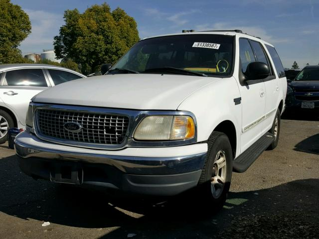 1FMRU1766XLB40876 - 1999 FORD EXPEDITION WHITE photo 2