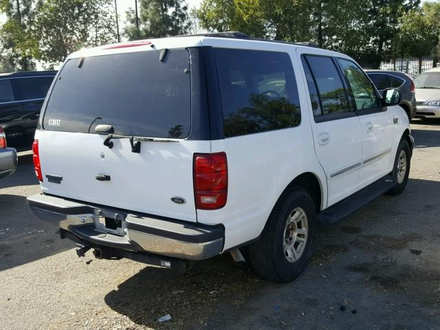 1FMRU1766XLB40876 - 1999 FORD EXPEDITION WHITE photo 4