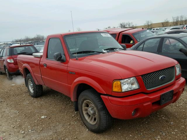 1FTYR10U83PA10000 - 2003 FORD RANGER RED photo 1