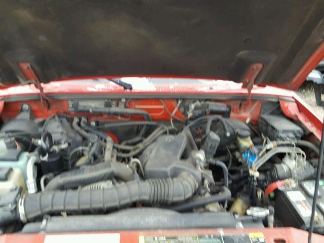 1FTYR10U83PA10000 - 2003 FORD RANGER RED photo 7