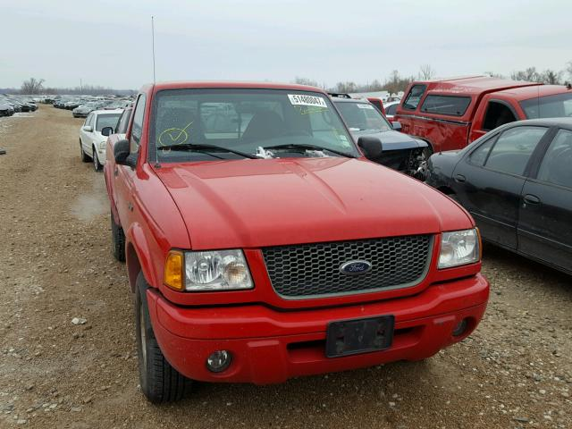1FTYR10U83PA10000 - 2003 FORD RANGER RED photo 9