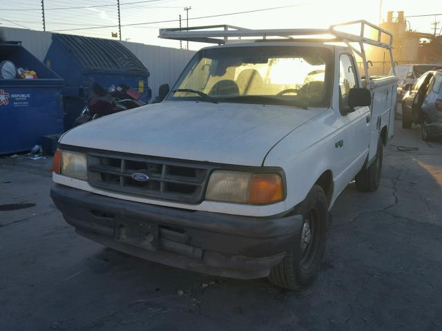 1FTCR10U2RUD96496 - 1994 FORD RANGER WHITE photo 2
