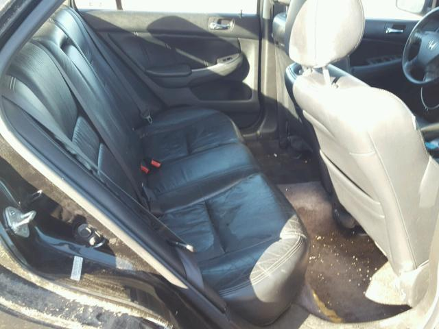 1HGCM66547A105783 - 2007 HONDA ACCORD EX BLACK photo 6