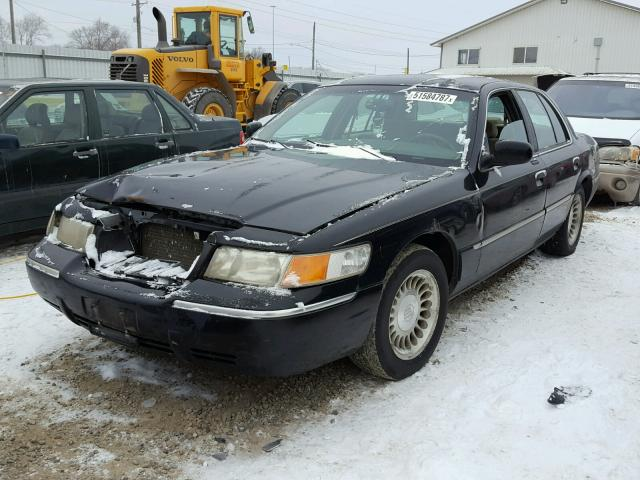 2MEFM75W8YX671562 - 2000 MERCURY GRAND MARQ BLACK photo 2