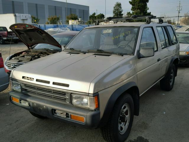 JN8HD17Y4SW002587 - 1995 NISSAN PATHFINDER BROWN photo 2