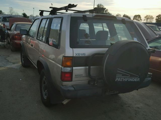 JN8HD17Y4SW002587 - 1995 NISSAN PATHFINDER BROWN photo 3