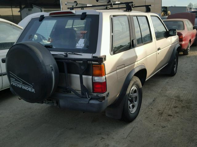 JN8HD17Y4SW002587 - 1995 NISSAN PATHFINDER BROWN photo 4