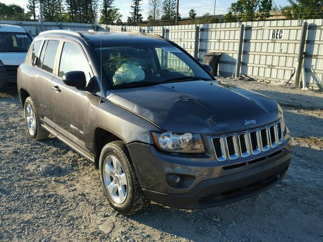 1C4NJCBA2FD149358 - 2015 JEEP COMPASS SP GRAY photo 1