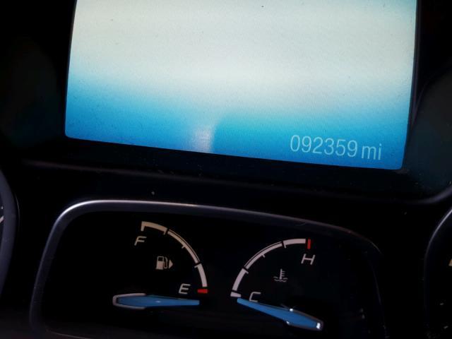 1FAHP3M22CL117406 - 2012 FORD FOCUS SEL BLUE photo 8