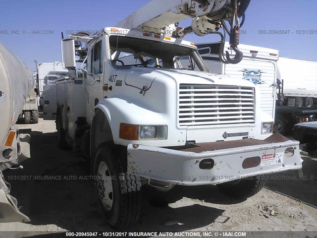 1HTSEAAR41H367504 - 2001 INTERNATIONAL 4800 4800 WHITE photo 1