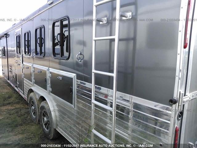 51Y3B6L25J2007153 - 2018 BISON HORSE TRAILER  Unknown photo 3