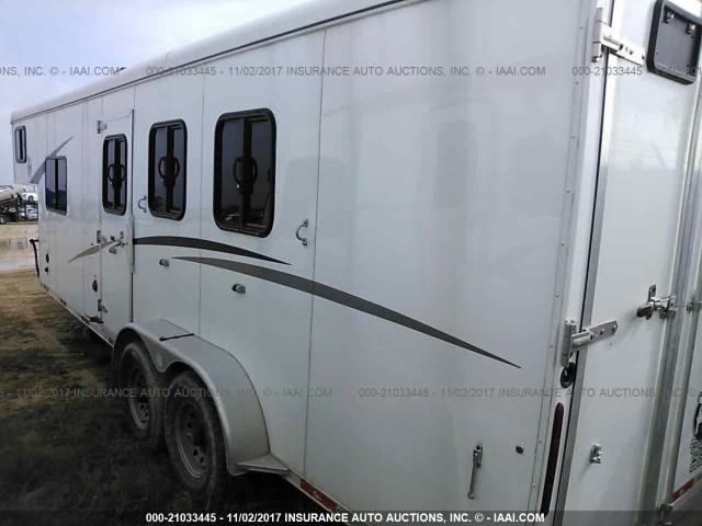 51Y335C2XJ2007530 - 2017 BISON HORSE TRAILER  Unknown photo 3