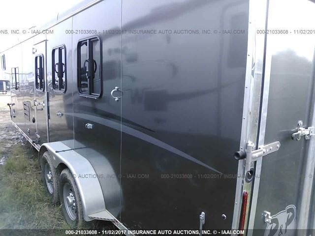 51Y335D24J2007585 - 2018 BISON HORSE TRAILER  Unknown photo 3