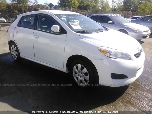 2t1ku40e09c131125 2009 Toyota Corolla Matrix White