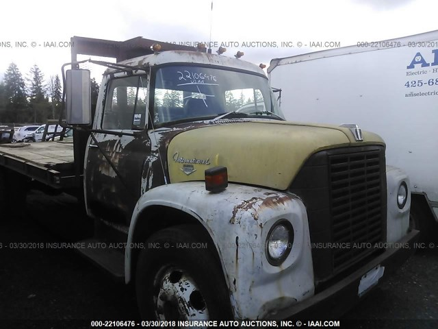 106620H302285 - 1973 INTERNATIONAL FLATBED  YELLOW photo 6