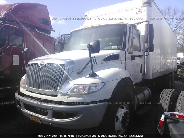 1HTMSAZR1EH767550 - 2014 INTERNATIONAL 4400 4400 WHITE photo 2