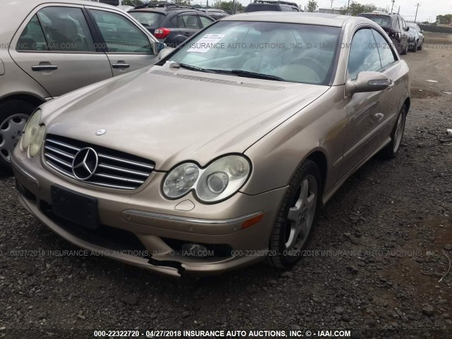 Wdbtj75j33f038567 2003 mercedes benz clk 500 gold for Mercedes benz f 750 price